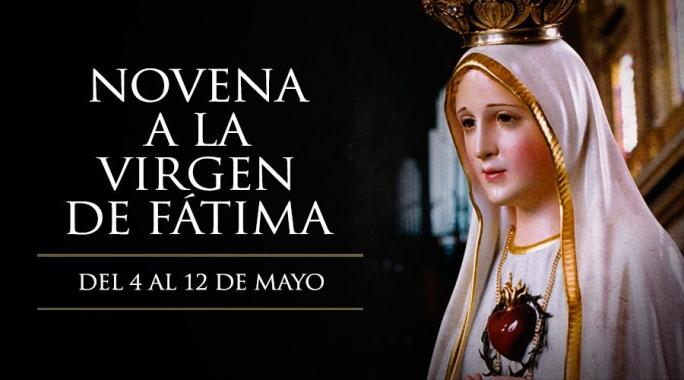 Novena a La Virgen de Fatima